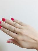 T steel ring C letter ring fashion ring NHIM191497