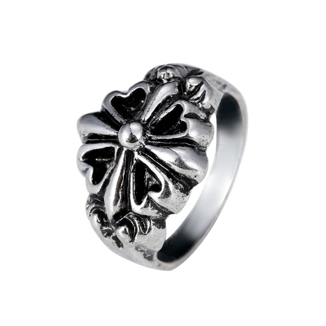 Retro cross men and women rings rock punk personality fashion NHIM191520's discount tags
