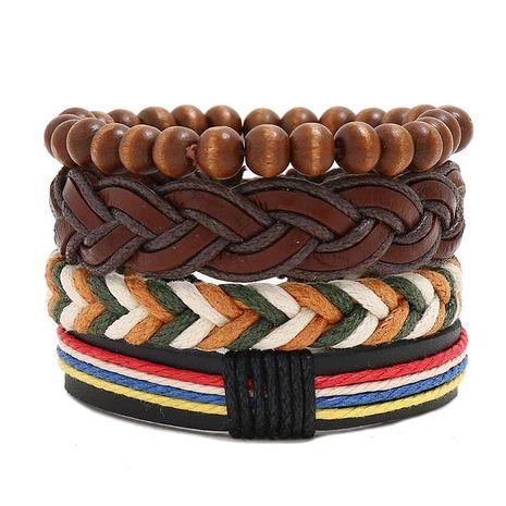 Cowhide suit men's bracelet NHPK191575's discount tags