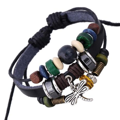 Beaded Bracelet Vintage Cowhide Bracelet New Hot Sale Jewelry NHPK191616's discount tags