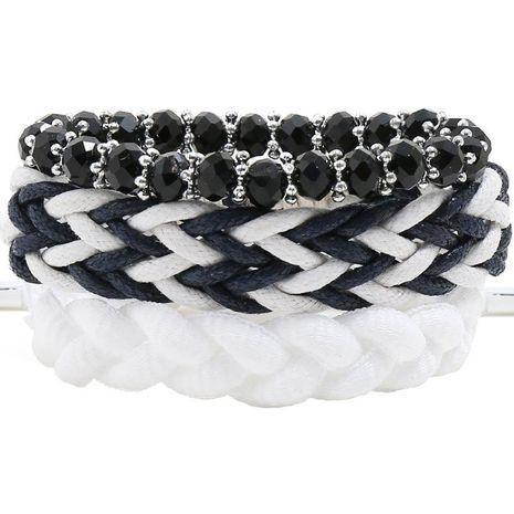 Simple DIY Combination Set Bracelet Ladies' Braided Bracelet NHPK191619's discount tags
