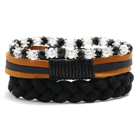 Hand-woven hemp rope bracelet NHPK191623's discount tags