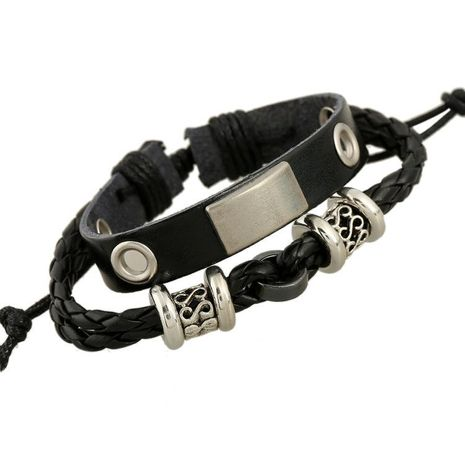 New Best Selling Leather Bracelet Strap NHPK191632's discount tags