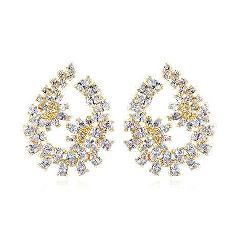 Flower earrings new creative ladies banquet wild earrings NHTM191639's discount tags