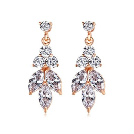 Dazzling Stud Earrings with Micro-Set Zircon NHTM191646's discount tags