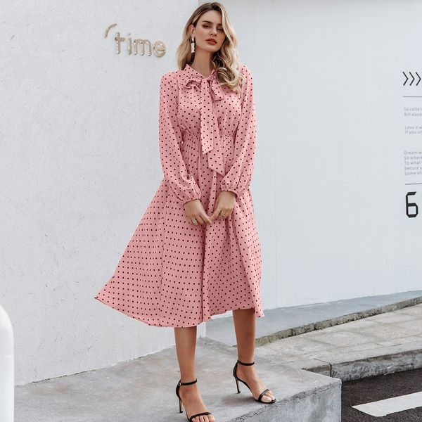 Rose vestido dulce al por mayor ropa de moda femenina NHDE195842
