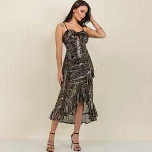 Black Strap Oversized Dress Wholesale Fashion Women's Clothing NHDE195912