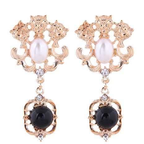 European and American fashion metal simple classic exaggerated earrings NHSC191981's discount tags