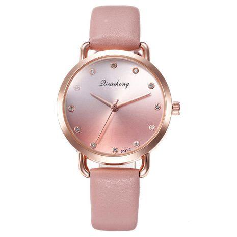 Moda Mujer Panther Eye Dial Diamond Watch Cinturón Reloj de cuarzo NHHK191835's discount tags