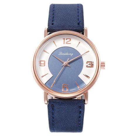 Nuevo reloj Lady's Locomotive Dial Math Grabado Reloj de cinturón de moda para estudiantes NHHK191837's discount tags