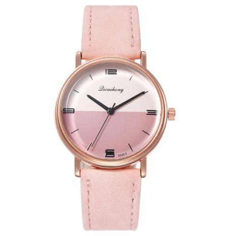 Nuevo reloj para mujer color yin y yang cara moda simple estudiante cinturón reloj de cuarzo mujer al por mayor NHHK191838's discount tags