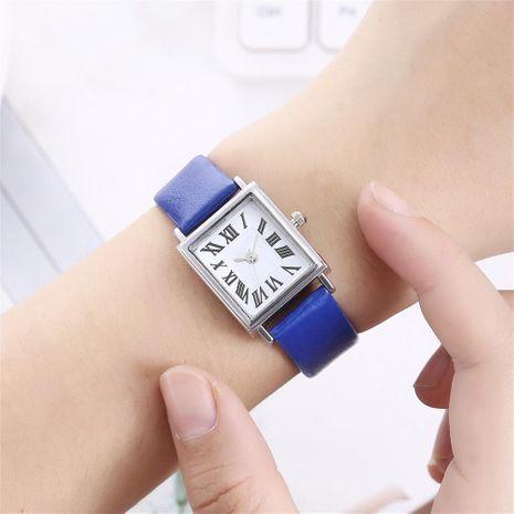Nuevo reloj para mujer, escala romana, reloj cuadrado para mujer NHHK191840's discount tags