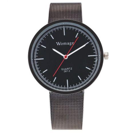 Nueva versión coreana de relojes de cuarzo ultradelgados para hombres y mujeres NHSY191861's discount tags