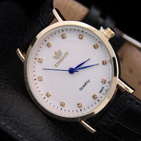 Nueva moda ultrafino cinturón reloj de cuarzo reloj casual para hombres al por mayor NHSY191868's discount tags