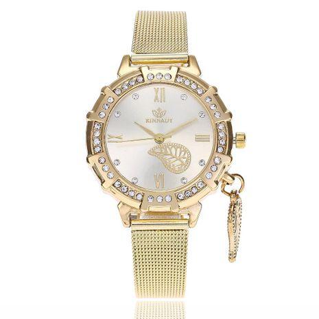 Reloj para mujer con pulsera de cuarzo de aleación de diamantes NHSY191872's discount tags