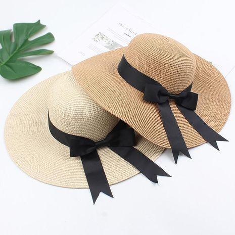Sombrilla de playa junto al mar gran sombrero versión coreana del sombrero para el sol con arco salvaje NHXO191946's discount tags