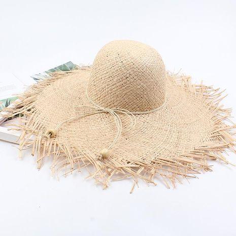 Sombrero verano nueva visera playa salvaje sombrero de ala grande plegable NHXO191957's discount tags