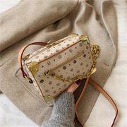 New Retro Fashion Presbyopia Diagonal Box Bag Women Lock Chain Shoulder Bag NHPB192090