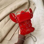 Crayfish Ugly Cute Girl Bunny Bag New Korean Pure Color Chain Messenger Bag NHPB192099