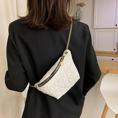 Wholesale women bag fashion chest bag waist bag new chain shoulder shoulder chain bag NHXC192209's discount tags