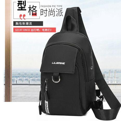 New Men's Chest Bag Korean Messenger Bag Oxford Outdoor Waterproof Shoulder Bag Multifunctional Storage Bag NHXC192212's discount tags