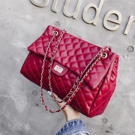 chic bag women's new diamond chain embroidered thread bag NHXC192215's discount tags