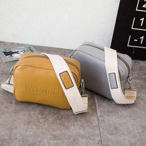 New bag simple small square bag shoulder messenger bag wholesale NHXC192217's discount tags