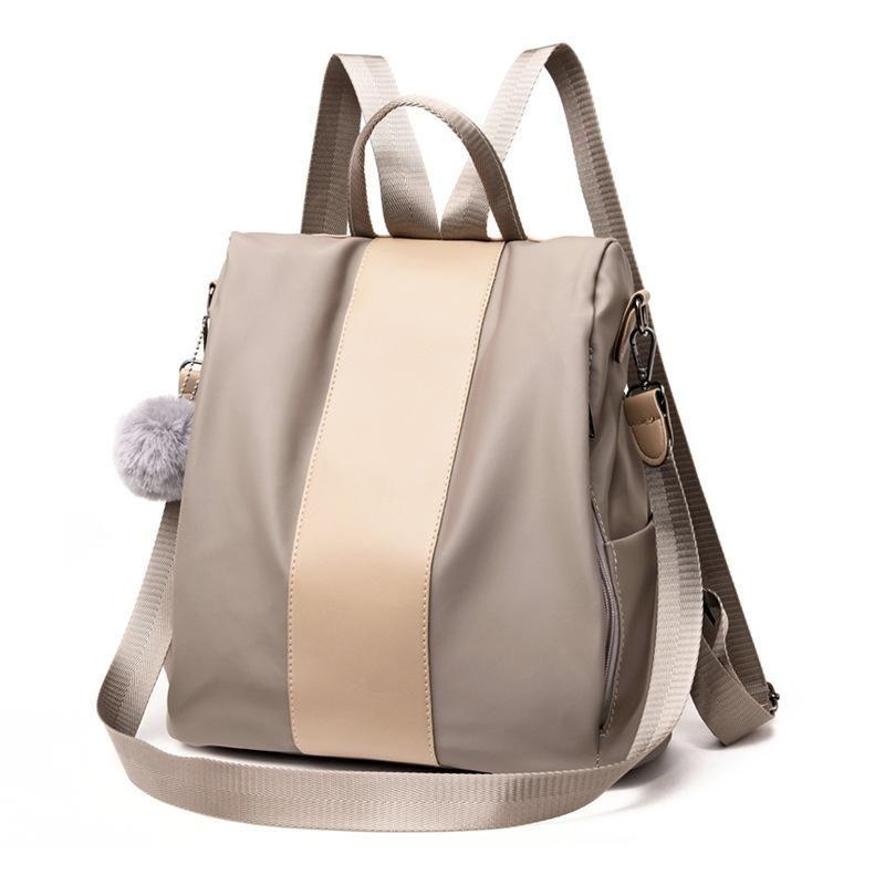 Nueva mochila coreana para mujer Mochila de nylon de gran capacidad Mochila de tela Oxford NHXC192221