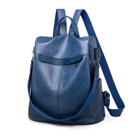 New fashion PU anti-theft backpack fashion school bag NHXC192225's discount tags