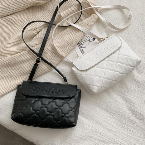 Korean version of the shoulder bag rhombus embroidered cross-body bag fashion trend small square bag women NHXC192234's discount tags