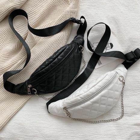 Fashion new bag rhombus chest bag chain waist bag shoulder diagonal women bag NHXC192236's discount tags