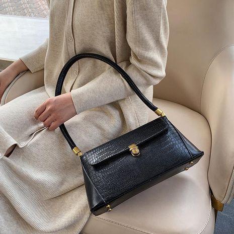Women's bag new fashion stone pattern small wild retro shoulder bag NHXC192246's discount tags