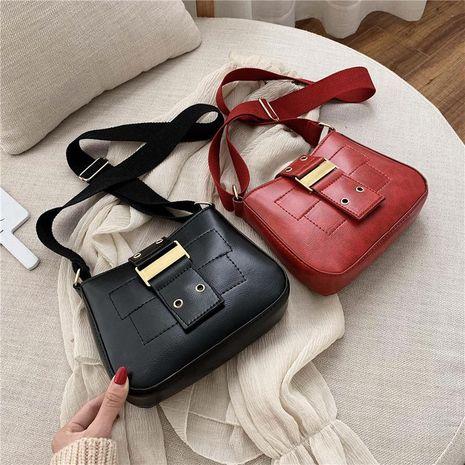 Bag women winter new retro fashion saddle bag shoulder messenger bag underarm bag NHXC192254's discount tags