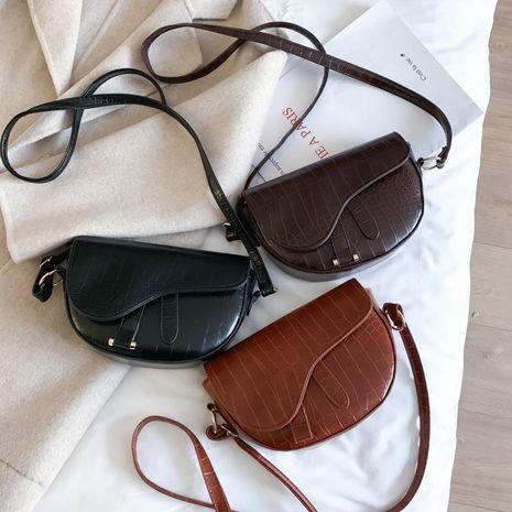 Bags women's new fashion saddle bags retro popular Korean shoulder messenger bag NHXC192263's discount tags