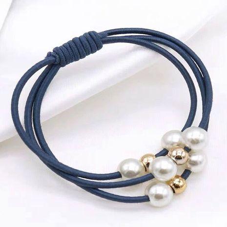 Tocado de anillo de pelo de perla salvaje de moda simple cuerda de pelo banda de goma accesorios para el cabello banda de goma NHSC192384's discount tags