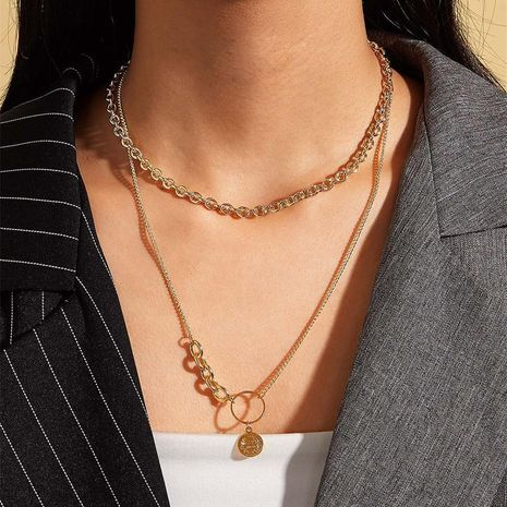 Sweater chain simple accessories NHKQ192334's discount tags