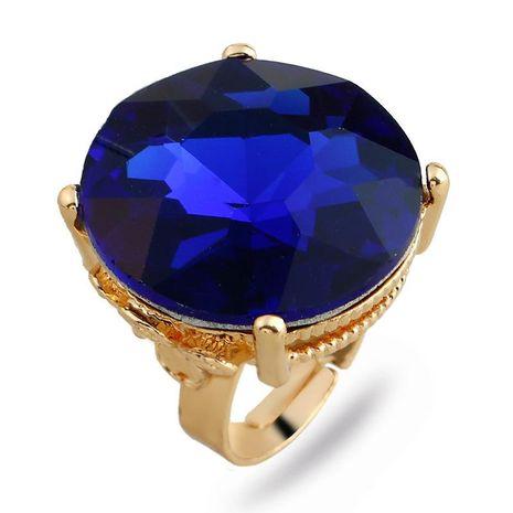 Bracelet Fashion Ring Round Big Gem Index Finger Ring NHKQ192335's discount tags