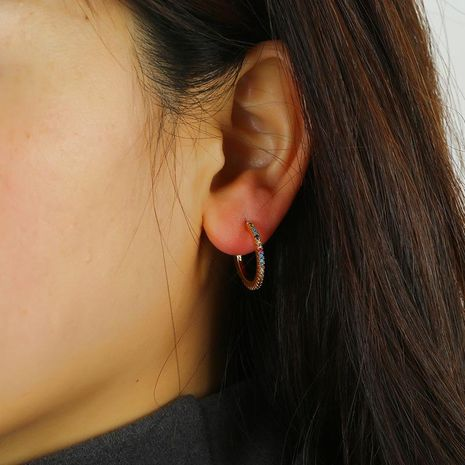 Fashion Golden Geometric Round Big Earrings For Women Pearl Earrings Wholesale NHKQ192345's discount tags