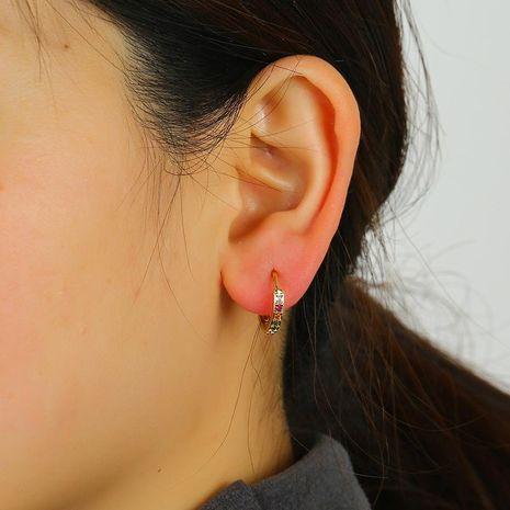 925 Silver Elf Earrings Korean Earrings Soft Girl Symmetric Simple Miniature Ear Stud Earrings NHKQ192357's discount tags