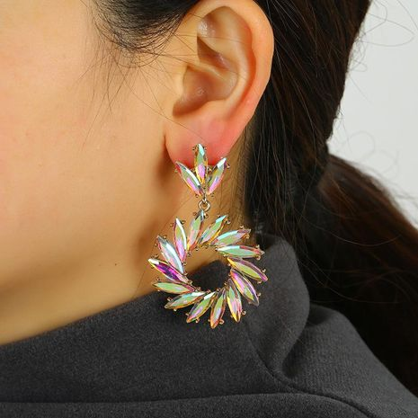 Sunflower Earrings Temperament Drop Earrings NHKQ192369's discount tags
