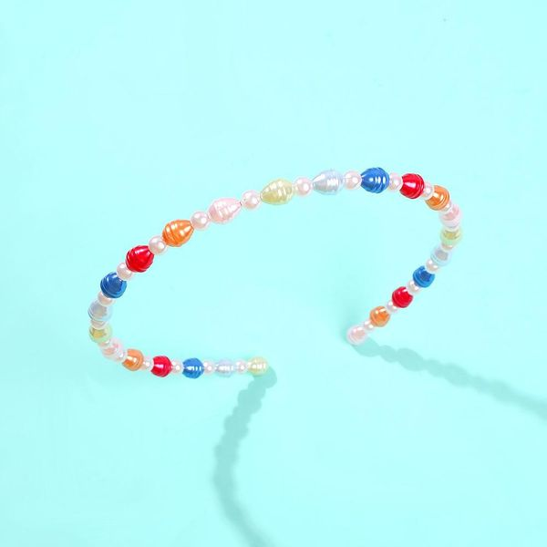 Creative new color pearl headband NHMD192378
