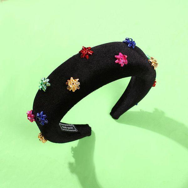 New thick sponge fashion hair hoop NHMD192380