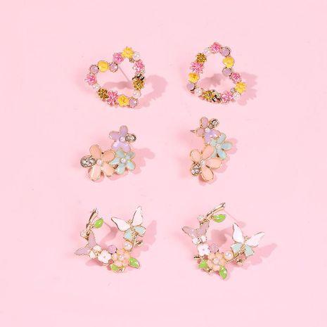 Creative geometric earrings NHMD192383's discount tags