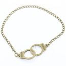 Necklace bracelet simple retro handcuff necklace cartoon toy small handcuff necklace NHCU192687