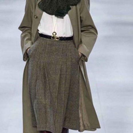 Venta al por mayor Una versión de falda de cintura alta NHAM192797's discount tags