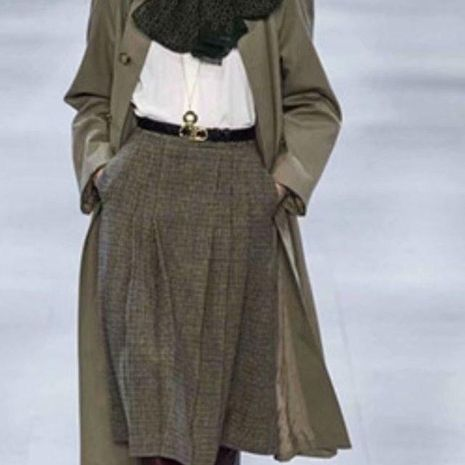 Wholesale A version of high waist skirt NHAM192797's discount tags