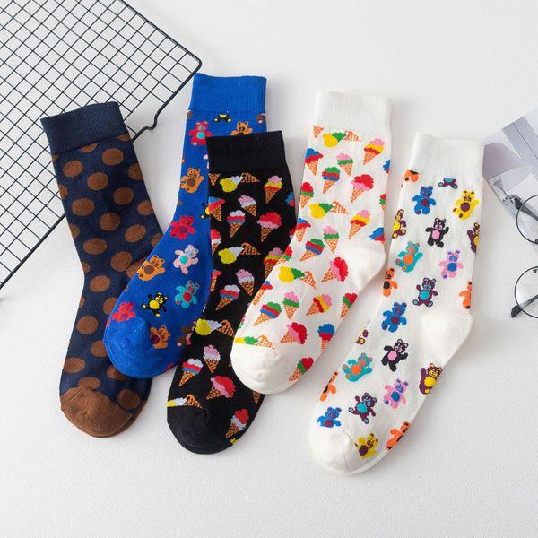 Nuevos calcetines de helado NHZG193213