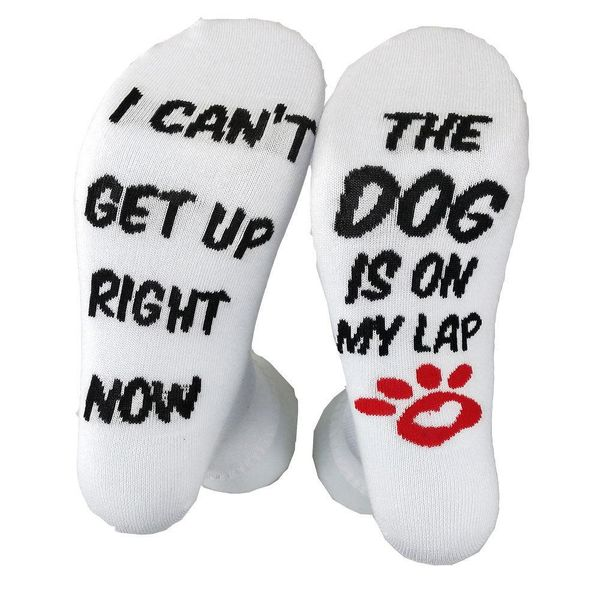 I CAN'T GET UP fashion socks wholesale NHYU193225