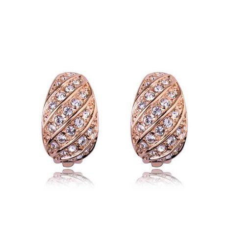 Nuevo exquisito clip de oreja de diamante completo pin de oreja de moda pendientes coreanos al por mayor NHLJ193306's discount tags