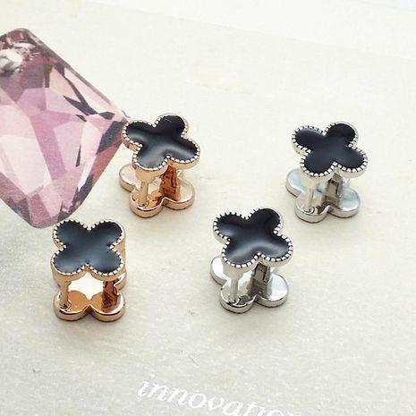 Aretes Pop de moda Pendientes de trébol de diamantes finos Joyas de alta gama NHLJ193312's discount tags